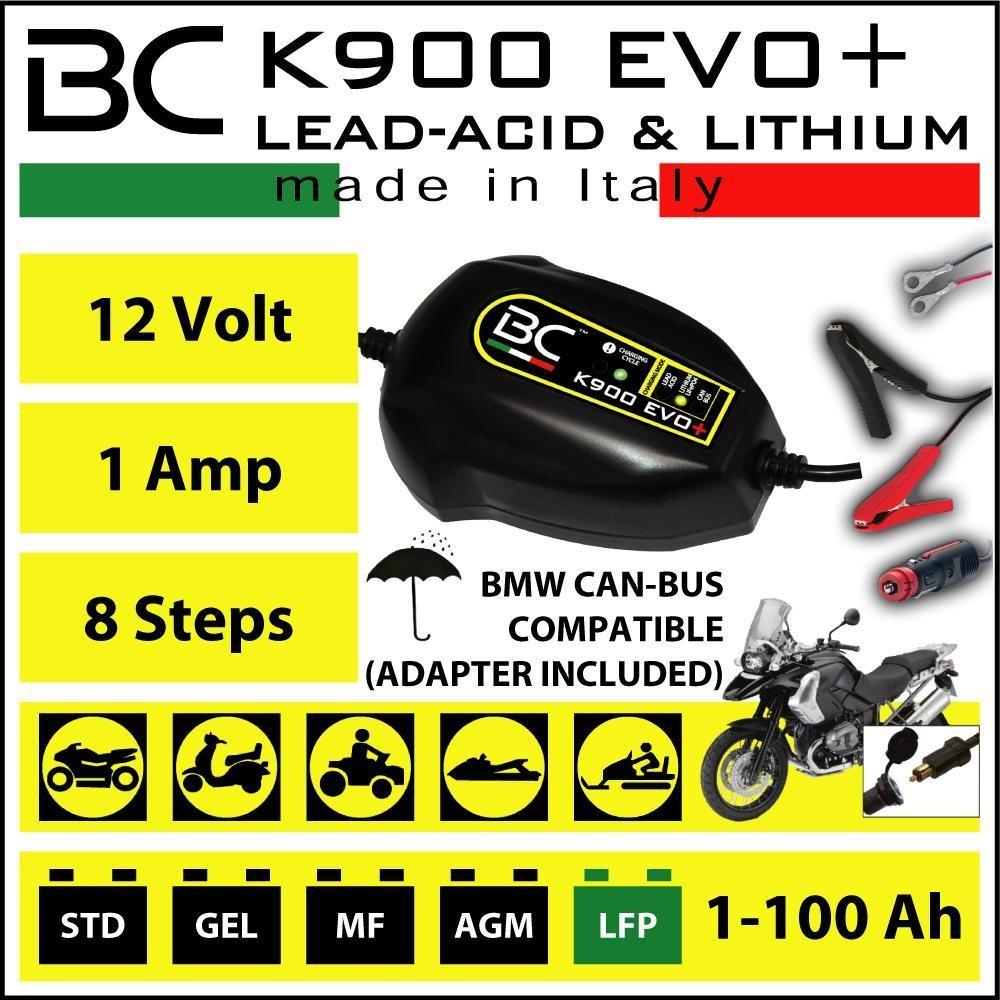 Sonstige BC - K900 Evo+ Batterieladegerät 12V CAN-Bus / Blei / LiFePo4 289345