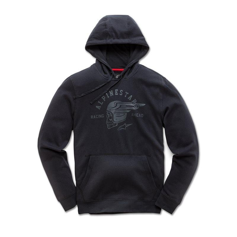 Alpinestars - Skullision Fleece Pulli L Black 1038-51025-10-L