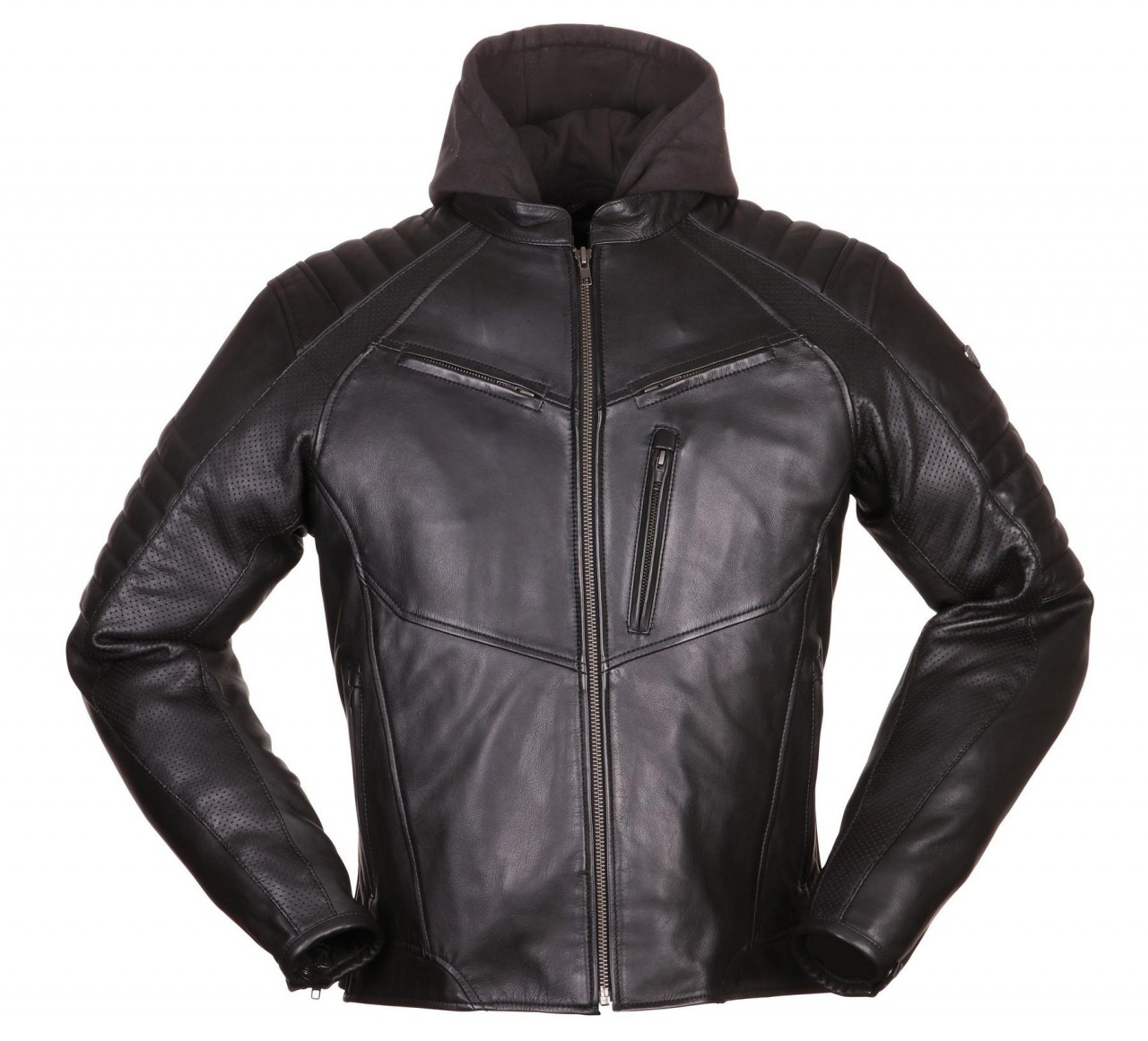 Modeka - Bad Eddie Lederjacke XL Black 010870-10-XL