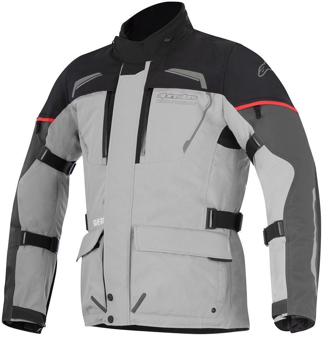 Alpinestars - Managua GTX Motorradjacke S Light Gray / Dark Gray / Black